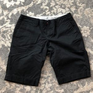 Old Navy Size 0 Black Low-Rise Shorts
